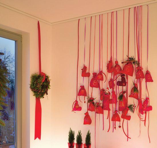 Beispiel für Nielsen Galerieschienen-Verwendung mit Textilien